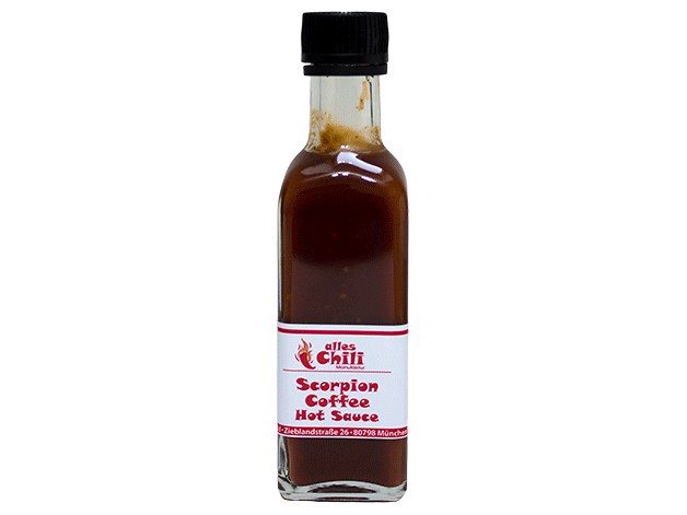 Scorpion Coffee Hot Sauce
